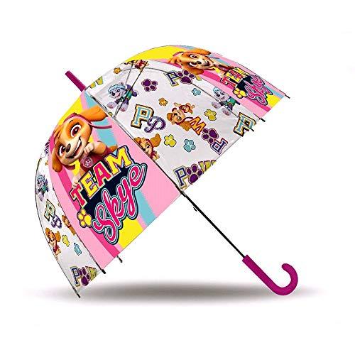 PAW PATROL Stockschirm Automatik Skye 70 cm   Kinder Regenschirm   Mädchen