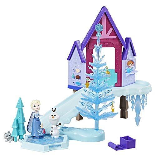 Hasbro C1919EU4 Little Kingdom Olafs Holiday Adventure Winterlandschaft, Spielset