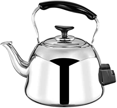 Stainless Steel Stove Top Kettle 304 5L Food Grade Kettle Sound Electric Kettle Household Hotel Large Capacity