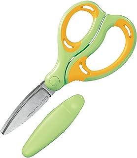 コクヨ ハサミ こども エアロフィットサクサ グルーレス刃 右手用 黄緑 ハサ-P270YG