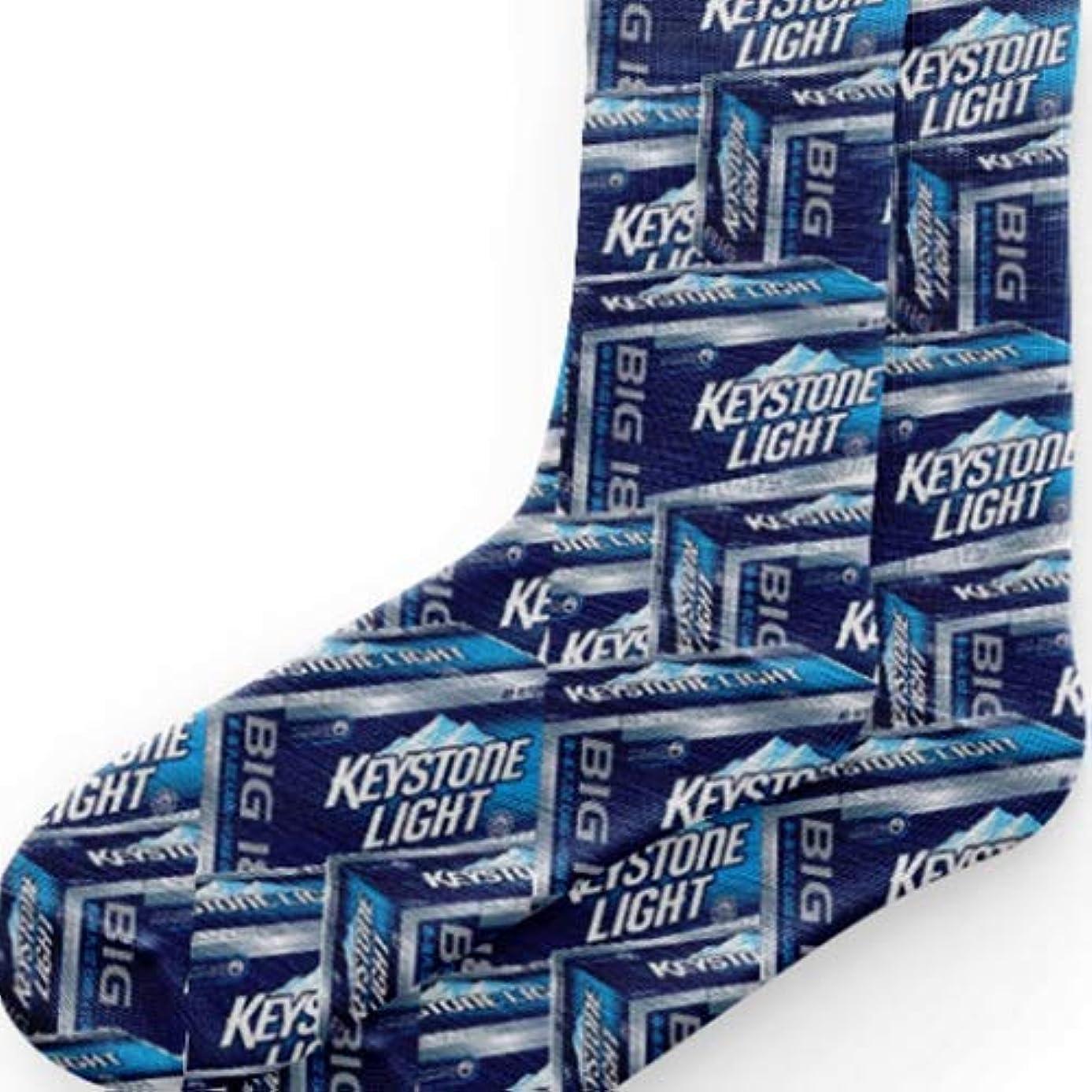 Keystone Light Socks - Keystone Socks - Beer Design Socks