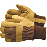 GEMPLER'S Waterproof Insulated Pigskin Leather Work Gloves – Triple-Layer Technology with Heatkeep Lining and Comfort Knit Wrist, Size Large, 1 Pair