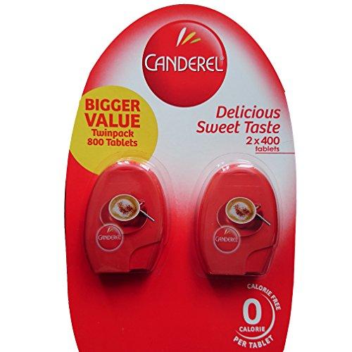 Canderel - Édulcorant hypocalorique 400 comprimés (paquet de 2)