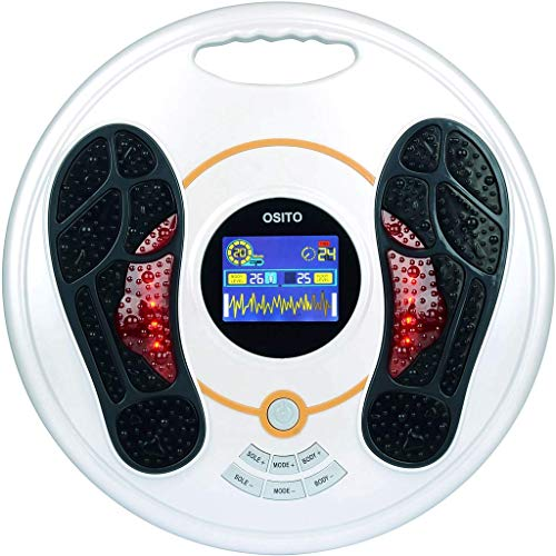 Foot Circulation Plus (FSA or HSA Eligible) - Medic Foot Massager Machine with TENS Unit, EMS...