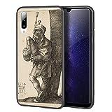 Berkin Arts Albrecht Durer Custodia per Samsung A50/A50S/A30S/Custodia per Cellulare Art/Stampa giclée UV sulla Cover del Telefono(El gaitero)