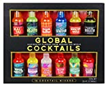 Thoughtfully Gifts, Global Cocktail Mixers, 2.3 Fluid Ounces Each, Mixes of Classic Margar...