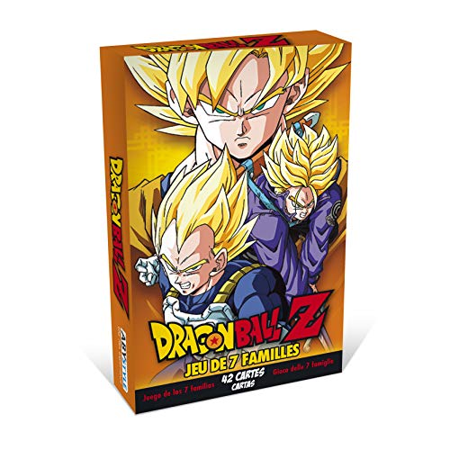 professionnel comparateur ABYstyle-Dragon Ball-Card Games-Sept familles DBZ choix