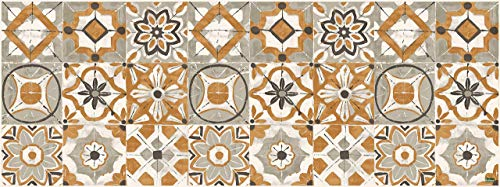 Vilber Gran Chef Kollar Alfombra, Vinilo, Naranja, 50 x 140 x 0.2 cm
