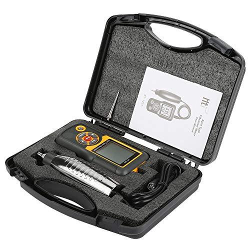 HT-1201 - Vibrador con pantalla digital dividida (vibrador de alta precisión, iluminación de fondo, análisis de vibración)