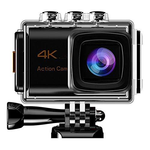 4K-Action-Kamera, 3-Achsen Smart-Kamera WiFi Fernbedienung Luftkamera 20MP 2In LCD Sport-wasserdichte Kamera