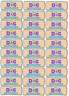 30 Doc McStuffins Bandaids,band aids,Cut and Peel 2