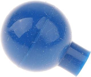 MagiDeal 5ml Glass Dropper Pipettes Blue Rubber Cap Dispensing Liquids Lab Supplies