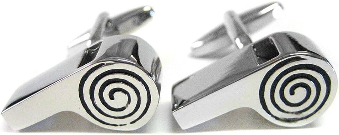 Kiola Designs Working Whistle Cufflinks