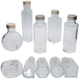 ハーバリウム 瓶 100ml 5種類セット 【お試し】 送料込み