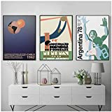 YQQICC World Cup 1962 Chile 1930 Uruguay Fifa 1978 Argentina Wall Art Canvas Poster Football Print Painting Decor-40x50cmx3 Sin Marco