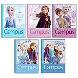 サンスター文具 ディズニー キャンパスノートB罫 5冊パック アナと雪の女王 S2635267