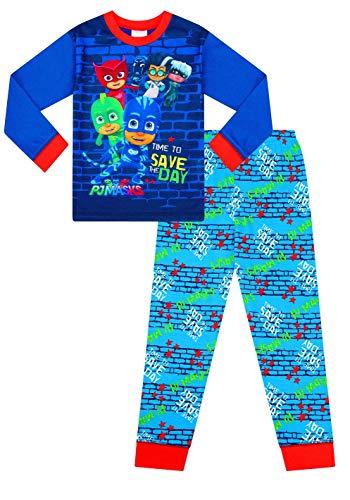 Pijama largo azul Pj Mask