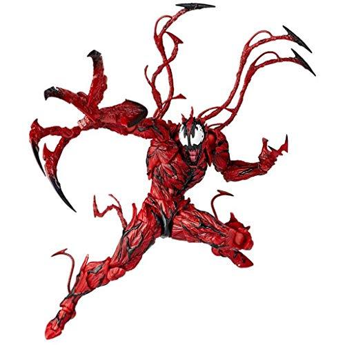 XINZ-BYT Jouet Spider-Homme Jouets pour Adultes pour Enfants Red Venom Modèle détachable Dessins animés/Cadeaux/Collections/Décorations Modèle de Jouet