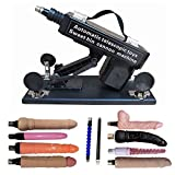 Upgrad Version Strong Automatic Pumping Machine Gun with Attachments Thrusting Sex Tool for Women and Man