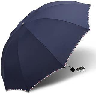 Large Windproof Anti UV Clear/Rain Umbrella Lacework Princess Compact Folding Travel Umbrellas