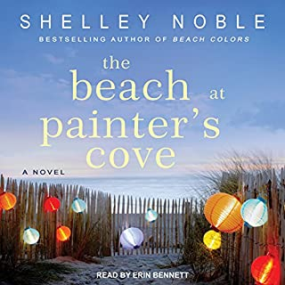 The Beach at Painter's Cove audiobook cover art