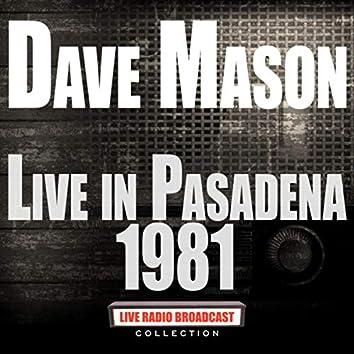 Live In Pasadena 1981 (Live)