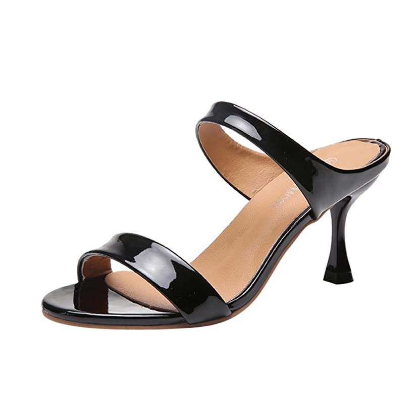 Limsea Women Fish Mouth Sandals Fashion Ankle High Thin Heels Bow Party Open Toe Shoes
