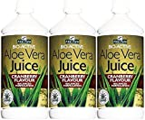 Aloe Pura Aloe Vera Cranberry Juice 1 Litre x 3 Bottles