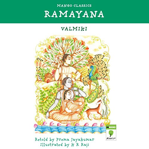 Children's Ramayana audiobook cover art