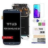 pour Samsung Galaxy S4 I9500 écran LCD,pour Samsung Galaxy S4 2013 GT-I9500 TFT LCD écran,S4 Affichage LCD écran Tactile Numériseur Verre Capteur Pièces De Rechange Réparation (Bleu)