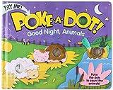 Melissa & Doug Libro Infantil - Poke-A-Dot: Buenas Noches, Animales (Libro de Tablero con Botones de Acción)