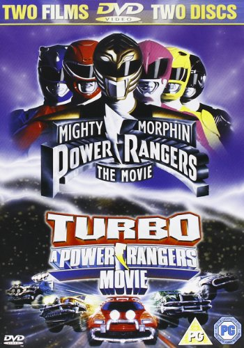 Power Rangers-Movie/Turbo-Movie DVD Reino Unido