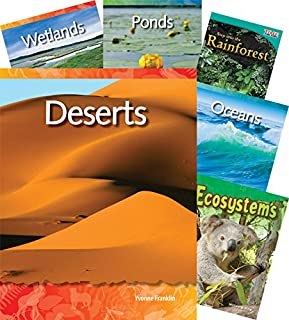 Teacher Created Materials - Classroom Library Collections: Biomes and Habitats - 10 Book Set - Grades 2-3 - Guided Reading Level K - P