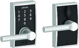 Schlage Touch Century Lock with Broadway Lever (Satin Chrome) FE695 CEN 626 BRW