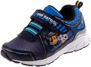 Paw Patrol Boys' Toddlers Blue/Black/White Sneakers Light Up Shoe