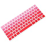 Allinside Ombre Red Cover for Apple Magic Keyboard (MLA22LL/A) with US Layout