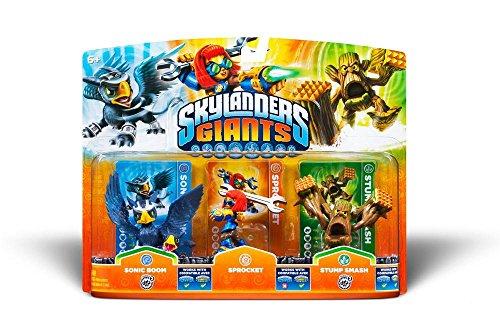 Skylanders Giants: Triple Pack C (Sprocket, Sonik Boom, Stump Smash)