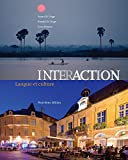 Bundle: Interaction: Langue et culture, 9th + iLrn Heinle Learning Center Printed Access Card