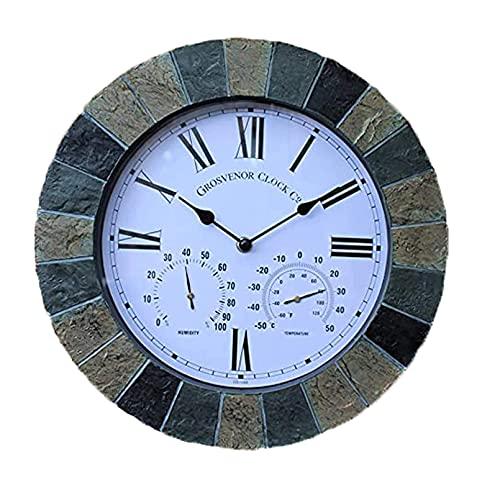 Relojes De Pared Con Termometro E Higrometro  marca OHKKSD