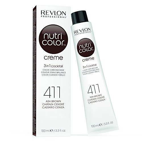 REVLON PROFESSIONAL Nutri Color Creme 411 Aschbraun (100 ml)