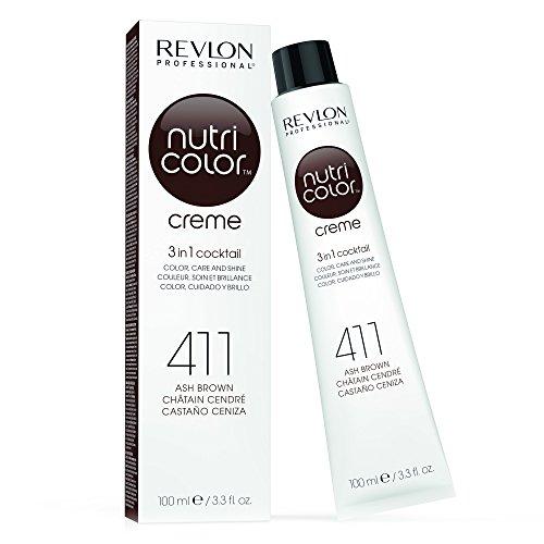 Revlon, Cuidado del pelo y del cuero cabelludo - 100 ml, 411 Castaño (8432225089270)