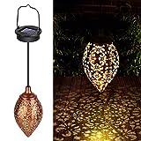 Farol Solar Exterior Jardin, 1 Piezas Lámpara Solar Decorativa...