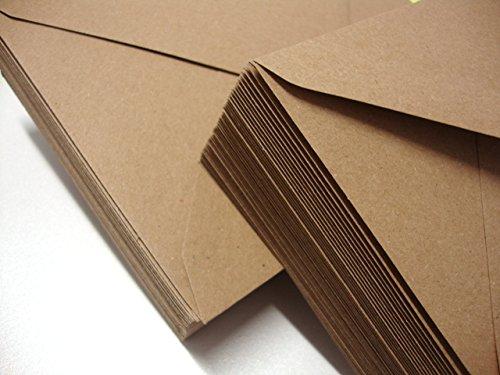 Enveloppes Kraft C5Premium par Cranberry Card Company marron