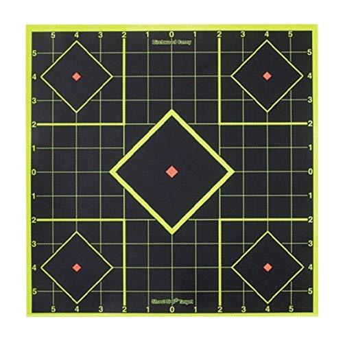 Birchwood Casey Shoot-N-C 8-Inch Sight-in Target, 15 Targets