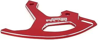 Rear Brake Disc Guard Cover Protector CNC Billet Dirt Bike Motorcycle Parts Fit for For Honda CR125R CR250R CRF250R CRF450R CRF450RX CRF250X CRF450X, Red