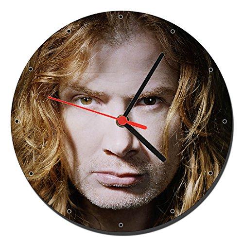 Megadeth Dave Mustaine Reloj de Pared Wall Clock 20cm