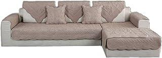 comprar comparacion ZIXING Fashion Invierno Felpa Sofá Cubierta Color sólido Protector sofás Antideslizante Resistentes a Las Manchas Máquina ...