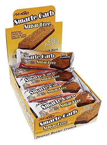 Nugo Nutrition Nugo Smarte Carb Bar Peanut Butter Crunch 12 barres par Nugo Nutrition