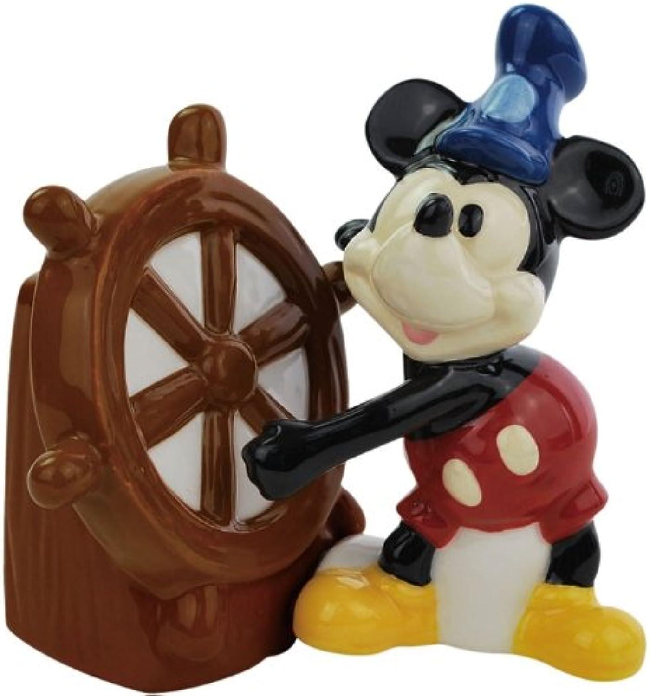 Salt & Pepper Shakers - Disney - Steamboat Willie New Licensed Toys 19545