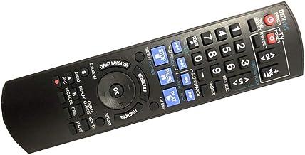 Best Easy Replacement remote control fit for Panasonic DMR-EZ485VK DMR-EZ48V DMR-EZ48VK DVD Recorder Player Review